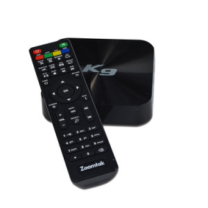 Amlogic S905 Android 5.1 OS Ota Update TV Box Zoomtak K9 pictures & photos
