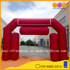 Red Exhibition Arch, Big Inflatable Arch, Air Tight Arch for Outdoor Used (AQ5387-1) pictures & photos