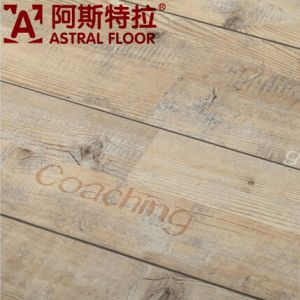 2015 New Product 12mm HDF Letter Laminate Flooring (AST52) pictures & photos