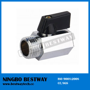 Nickel-Plated Brass Mini Ball Valve (BW-B101) pictures & photos
