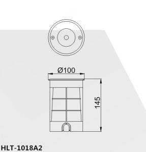 COB Aluminum LED Ground Light pictures & photos