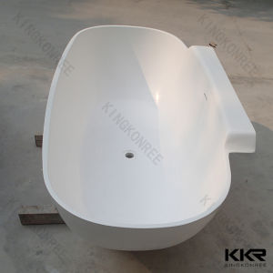 Custom Size Solid Surface Indoor Free Standing Bath (BT1706147) pictures & photos