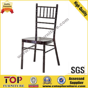 Hotel Removable Cushion Metal Banquet Tiffany Chair pictures & photos