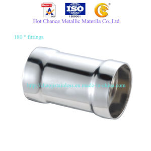 SUS 304 Stainless Steel Pipe Accessories pictures & photos