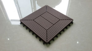 Manufacturer /Direct Factory of WPC DIY Decking Tiles 12 in. X 12 Inch Tile pictures & photos