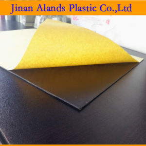 Black Self Adhesive PVC Sheets for Wedding Album pictures & photos