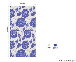 Mosaic Tile Pictures Flowers Pattern Classical Mosaic Mural White and Black Glass Mosaic pictures & photos