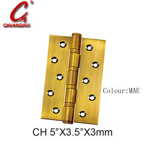 Window Connector Cabinet Iron Flat Hinge pictures & photos
