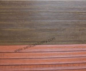 Woodgrain Cement Board with High Quality pictures & photos