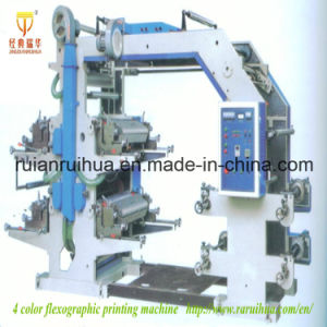 Best Price 4color 600mm Flexo Printing Machine pictures & photos