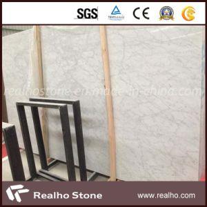 Polished Carrara White Marble Slab