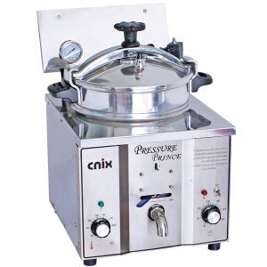 Countertop Frying Chicken Machine/ Counter Pressure Fryer (CE, ISO9001 manufacturer) pictures & photos
