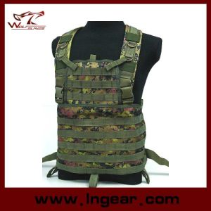 Tactical Molle Chest Rig Platform Carrier Vest Comabt Military Vest pictures & photos