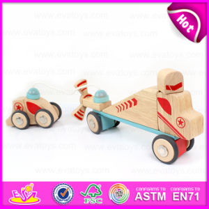 New Design 37PCS DIY Wooden Puzzle 4D Toy, High Quality Intelligent Wooden DIY Car Plane Toy W03b044 pictures & photos