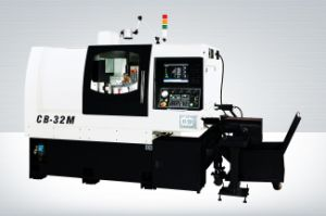 CB-32m Turning Machine CNC Lathe with Twin Spindle