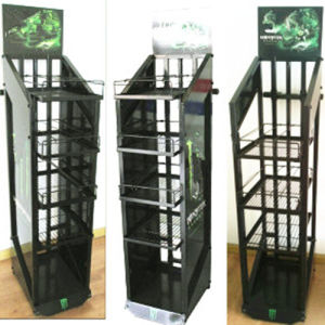 Customized Design Metal Floor Countertop Display Stand pictures & photos