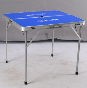 Aluminum Folding Table 80*80*70 (etc-887) pictures & photos