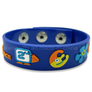 Custom Made Soft PVC Bracelet for Promotion (BR022) pictures & photos