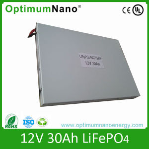 12V 30ah Lithium Battery for Solar Storage pictures & photos