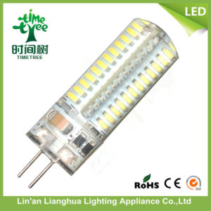 Small Size 3014 SMD 85V-265V Warm White 5W LED G4 Corn Lamp pictures & photos