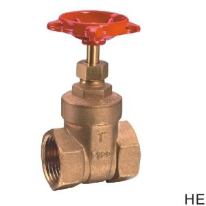 (HE-3001) Gate Valve with Steel Handle for Water pictures & photos