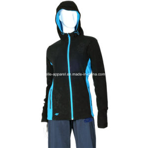 Leisure Sports Women Hoody Polar Fleece Jacket pictures & photos