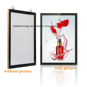 The Rounded Aluminum Frame of LED Slim Light Box pictures & photos