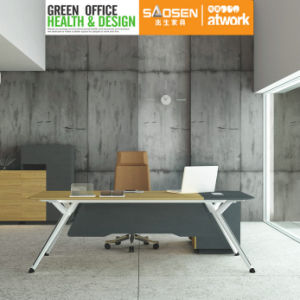 Modern Design Office Furniture Metal Leg Standing Office Desk