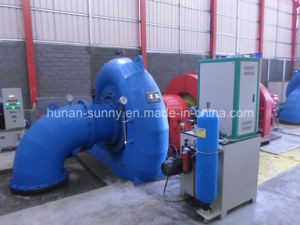 Hydropower Francis Turbine Generator 1.5MW High Voltage 10.5kv /Hydrturbine/ Hydro (Water) Turbine pictures & photos