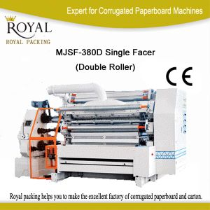 Fingerless Double Flute Single Facer for Corrugated Carton Box Making Machine pictures & photos