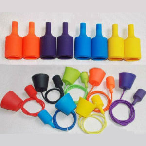 Silicone Pendant Lamp Cord Set pictures & photos