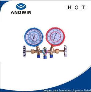 Pressure Manifold Gauge, Manifold Refrigerant Gauge pictures & photos