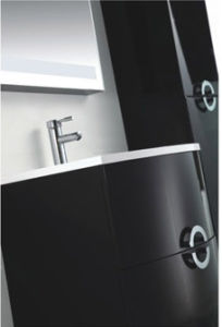 Latest Wall Mounted MDF Bathroom Furniture with Side Cabinet pictures & photos