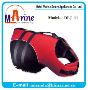 210d Oxford Red Color Dog Life Vest pictures & photos