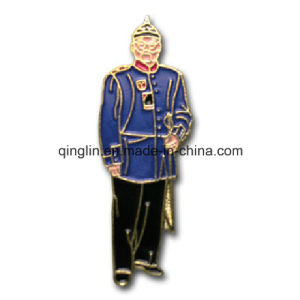 Customize Full Color Printing Human Shape Metal Badge/Lapel Pin (QL-Hz-0013) pictures & photos