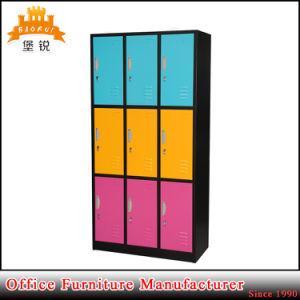 Jas-030 9-Door Changing Room Furniture Steel Clothes Cabinet Metal Locker pictures & photos
