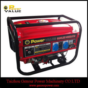 LPG Gasoline Petrol Powered Portable Generator 2.2kVA 5kVA Price pictures & photos