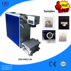 Mini Laser Engraving Machine for Metal Label pictures & photos