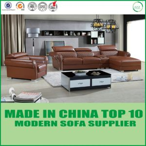 New Design Modern Living Room Leather Sofa Set pictures & photos