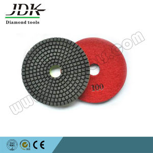 Hexagon Diamond Dry Flexible Polishing Pad pictures & photos