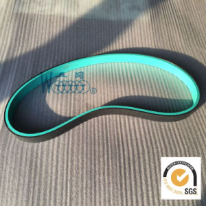 Rubber Flat Conveyor Belt with Green Color pictures & photos