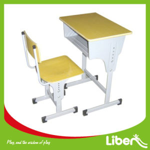 Single Adjustable Student Chair Table for School pictures & photos