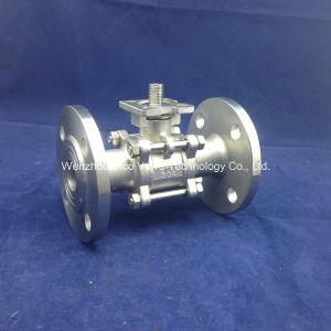 ASTM 3PC Flange Ball Valve for Industry pictures & photos