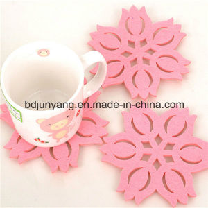 Colorful Felt Tree Cup Coaster pictures & photos