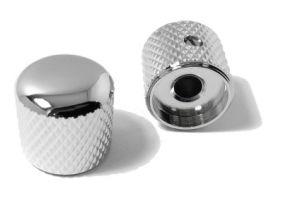 OEM Aluminum Round Volume Knurled Electronic Potentiometer Control Knob pictures & photos
