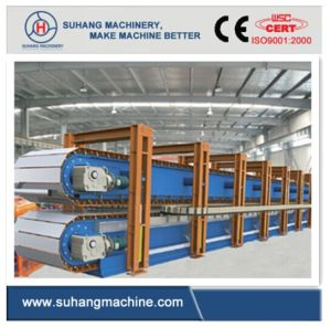 High Speed 6 Meter Discontinuous PU Sandwich Panel Production Line pictures & photos