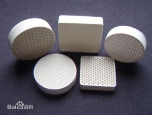 Straight Hole Honeycomb Ceramic Filter pictures & photos