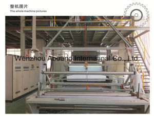 Non Woven Sheet Extrusion Line- China Plastic Machinery Supplier pictures & photos