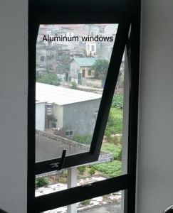 Aluminium Frame Glass Awing Window/Top Hung Window pictures & photos