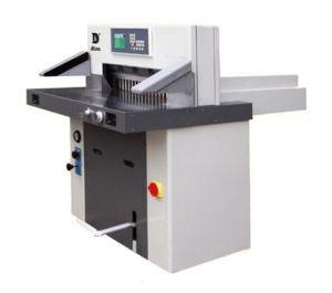 Hydraulic Program Paper Cutter Hsydd670 pictures & photos